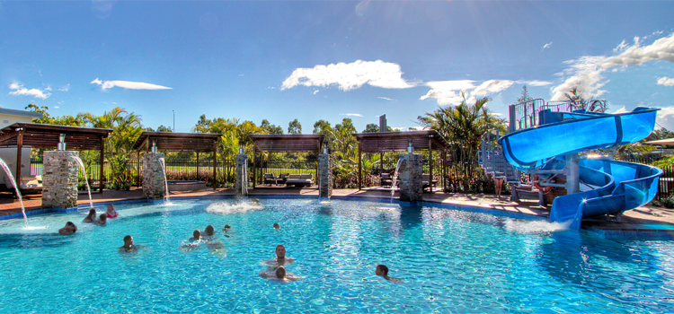 Our Pool at the Gold Coast Holiday Park